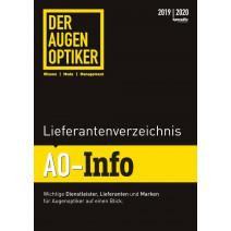 DER AUGENOPTIKER Lieferantenverzeichnis: AO-Info 2019/2020
