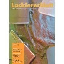 Lackiererblatt Ausgabe 03.2016