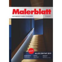 Malerblatt Ausgabe 05/2019