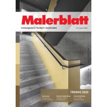 Malerblatt Ausgabe 01/2020