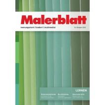 Malerblatt DIGITAL 10/2018