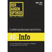 DER AUGENOPTIKER Lieferantenverzeichnis: AO-Info 2020/2021 DIGITAL
