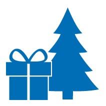 natur Weihnachts-Geschenk-Abo