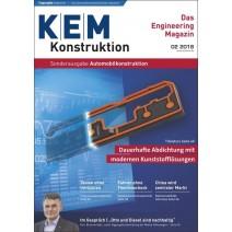 KEM Sonderausgabe 6/2018: Automobilkonstruktion