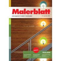 Malerblatt Ausgabe 09/2020
