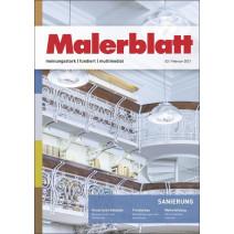 Malerblatt DIGITAL 02/2021