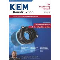 KEM Sonderausgabe Automobilkonstruktion 1/2019