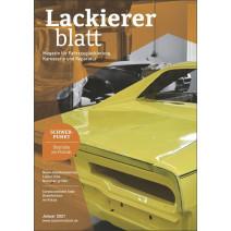 Lackiererblatt DIGITAL 01.2021