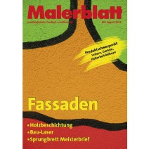 Malerblatt Ausgabe 08.2014