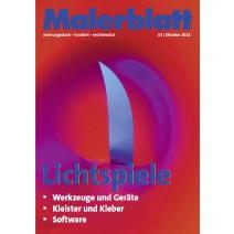 Malerblatt Ausgabe 10.2014