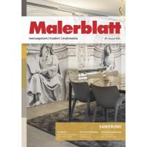 Malerblatt Ausgabe 08/2020
