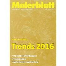 Malerblatt DIGITAL 01/2016