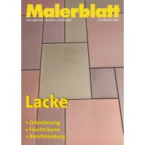 Malerblatt DIGITAL 10/2016