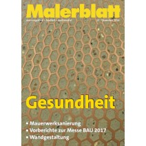 Malerblatt DIGITAL 12/2016