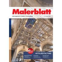 Malerblatt Ausgabe 10/2019
