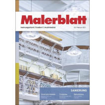 Malerblatt Ausgabe 02/2021
