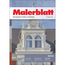Malerblatt Ausgabe 10/2021