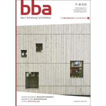 bba digital Ausgabe 7-8/2020