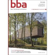 bba Ausgabe 11/2020