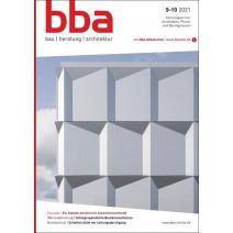 bba Ausgabe 10/2021