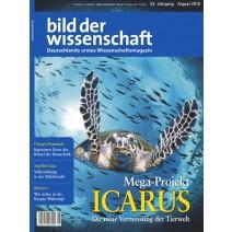 bdw Ausgabe 08/2018: Mega Projekt Icarus