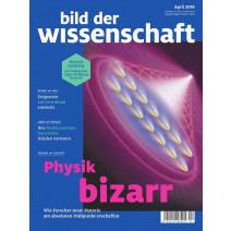 bdw Ausgabe 04/2019: Physik bizarr