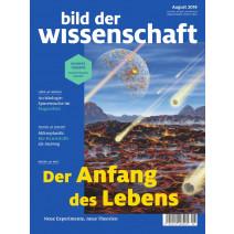 bdw Ausgabe 08/2019: Der Anfang des Lebens