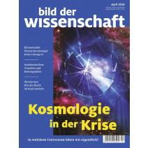bdw Ausgabe 04/2020: Kosmologie in der Krise