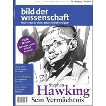 bdw Ausgabe 05/2018: Stephen Hawking