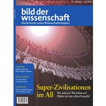 bdw digital Ausgabe 07/2018: Superzivilisationen im All