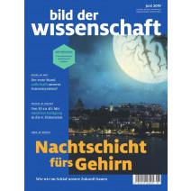 bdw Ausgabe 06/2019: Nachtschicht fürs Gehirn