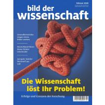 bdw Ausgabe 02/2020: Die Wissenschaft löst Ihr Problem!