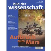 bdw Ausgabe 07/2020: Aufbruch zum Mars