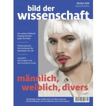 bdw Ausgabe 10/2020: männlich, weiblich, divers
