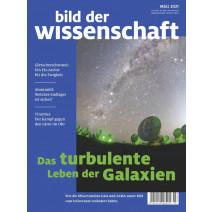bdw Ausgabe 03/2021: Das turbulente Leben der Galxien