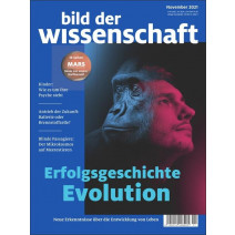 bdw Ausgabe 11/2021: Erfolgsgeschichte Evolution