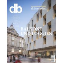 db Ausgabe 09/2020: Balkone und Loggien