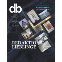 db Ausgabe 12/2017: Redaktionslieblinge