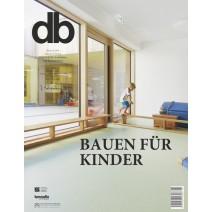 db Ausgabe 1-2/2018: Bauen für Kinder