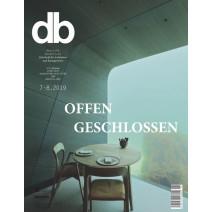 db digital Ausgabe 7-8/2019: Offen Geschlossen