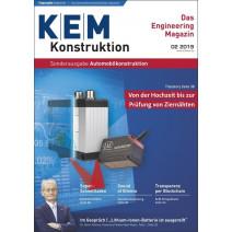 KEM Sonderausgabe 5/2019: Automobilkonstruktion