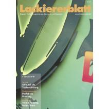 Lackiererblatt Ausgabe 01.2018