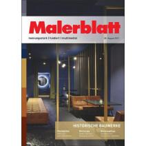 Malerblatt 08/2021