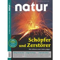 natur 01/2019: Vulkane Feuer und Asche