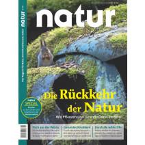 natur 11/2018: Rückkehr der Natur