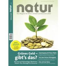 natur Ausgabe 11/2015: Grünes Geld - gibt's das?