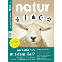 natur Ausgabe 01/2016: Wie hältst Du's mit dem Tier