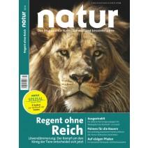 natur Ausgabe 01/2016: Löwendämmerung