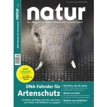 natur Ausgabe 10/2016: DNA-Fahnder für den Artenschutz