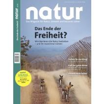 natur 02/2018: Das Ende der Freiheit?